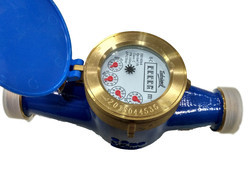 TOSHNIWAL 20mm Brass Multi Jet Class B Screwed Water Meter