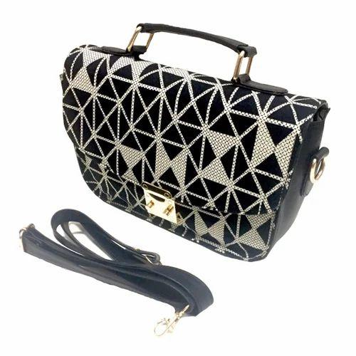 Single Lock Medium Sling Bag