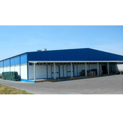 SS Factory Roofing Shed