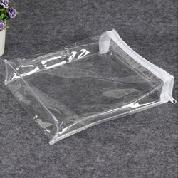 Best Quality Clear PVC plastic bag with weaving edge