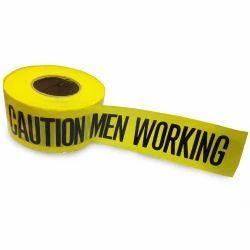Ld Non-virgin Caution High-quality, High Strength Printed Polyethylene Barricade Tape