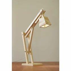 White Wood Night Lamp