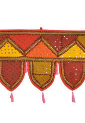 Rajasthani Traditional Mirror Work Door Hanging Toran