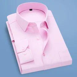 Formal Pink Striped Shirt