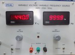 Variable Voltage Current Source with Variable Frequency