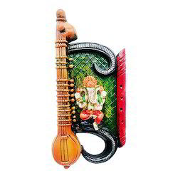 Lord Ganesha Colorful Wall Hanging Statue