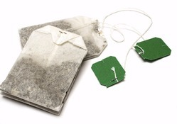 Tea Bags Tags & Envelope