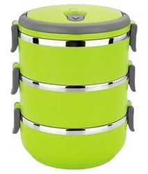 Green 3 Layer Lunch Box