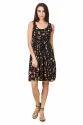 Floral Print Women Short Dress