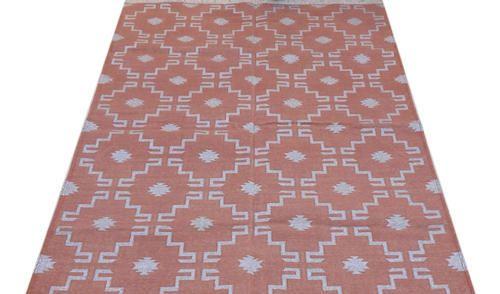 Panja Durries Jaipur Cotton Panja Flat Weave Handwoven