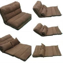 Floor Sofa Cum Bed   120 Cm Wide   Brown