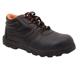 Nitrile Neosafe Crush A5031 PVC Leather Safety Shoes, Packaging Type: Box, for Industrial