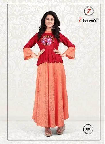 521f9b7856 designer women kurti - Designer Kurti Manufacturer from Surat
