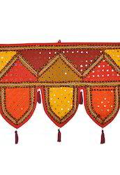 Embroidered Cotton Handmade Door Hanging Toran
