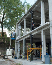 Column Strengthening Work