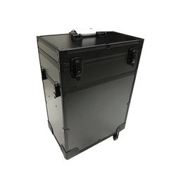 Black Vanity Case With Trolly