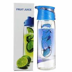 Blue  Sipper Fruit Infuser Water Bottle