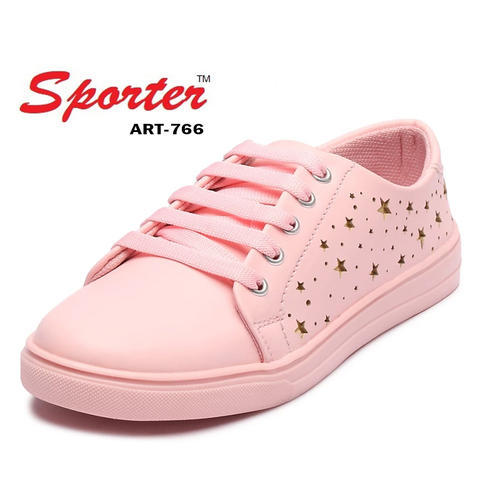Sporter Women Pink Canvas Casual Shoes