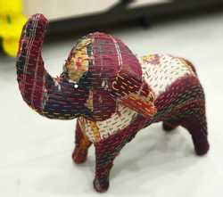 Decorative Handmade Black Cotton Elephant Home Decor beautiful toy