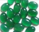 Green Ones Cut Stone