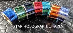 Holographic Decorative Art & Craft Tape