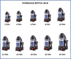 Hydraulic Bottle Jack 6 Ton JM 700 3
