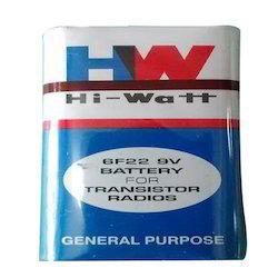 9v Hi Watt- Battery