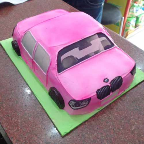 Designer Cakes 2 5 Kg BMW Car Shape Cake Retail Trader from New Delhi