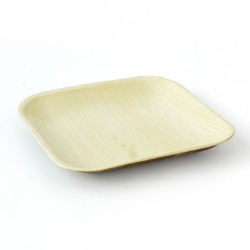 7 Inch Square Areca Leaf Plate