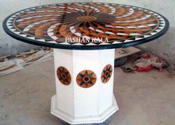 Pietra Dura Inlay Tables Tops
