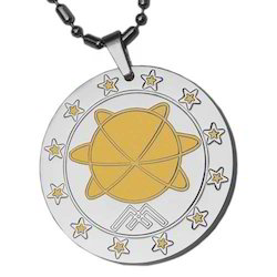 Bio Magnetic MST Silver Pendent
