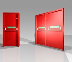 Fire Door For Industry & Fire Door For Industry - Exporter from Ahmedabad
