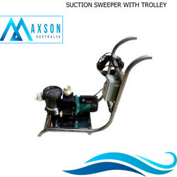 Suction Sweeper with Trolley