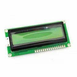 16X2 Green LCD Module