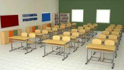 Double Desk School Furniture