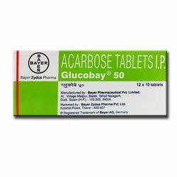 Glucobay 50mg Tablet