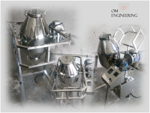 Pharmaceutical Machinery Double Cone Blender