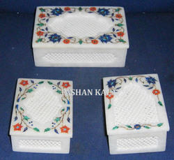Marble Box with Screen Work