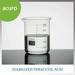 Stabilized Peracetic Acid