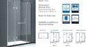 Shower Enclosure Wall To Wall HBA Series