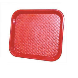 Polycarbonate Red Serving Trays