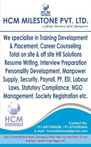 Training Development & Placement & HR Consultant Service Provider ...
