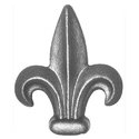 Wrought Iron Spearhead
