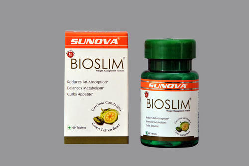 Weight Management Products Sunova Bioslim Weight Loss Supplement