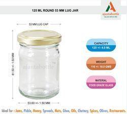 125 Ml Lug Jar