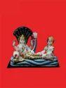 Sheshsaiya Marble Moorti Of Lord Vishnu Laxmi