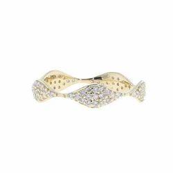 Yellow Gold Diamond Designer Ring