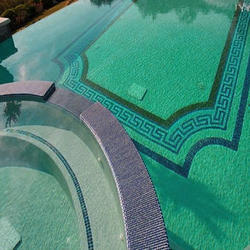 Swimming Pool Tiles Swimming Pool Glass Mosaic Tiles Manufacturer From Ahmedabad