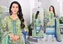 V Neck Full Sleeve Essenza Salwar Suit Fabric
