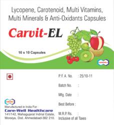 Lycopene Carotenoid Anti-Oxidant Capsules